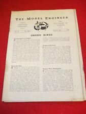 MODEL ENGINEER - Oct 20 1938 Vol 79 # 1954