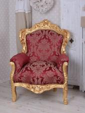 Fauteuil Antique Baroque Accoudoirs de Chaise Thron XXL
