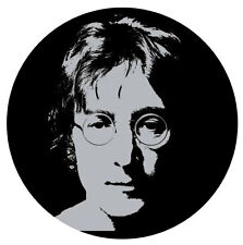 "The Beatles John Lennon photo sticker decal 4"" x 4"""