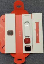 Reloj de Apple serie 6 44mm Rojo Carcasa de Aluminio Rojo Sport Band (GPS) Impecable En Caja
