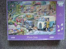 House of Puzzles 1000 piece jigsaw Puzzle Plum Jam
