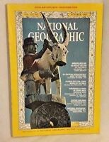 National Geographic Oct 1967 Madagascar Bible World Everglades Monsoon Sea Vtg