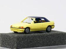 Praline 5706  Ford Escort Ghia Cabrio  geschlossen   1:87 / H0 , neu in OVP