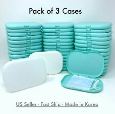 3 PCS Face Mask Carrying Case Box Cover Storage Protective Portable Holder Masks