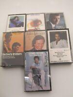Lot of 7 Pop Rock Cassettes Neil Diamond Lionel Richie + More (3 NEW, 4 Used)