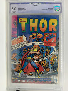 Thor 1 - Journey Into Mystery 83 - CBCS 5.0 - Reprints First App Thor