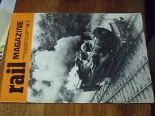 1ùµ?  Revue Rail Magazine n°7 CC 1100 232 R-S A.PetietP.O Correze