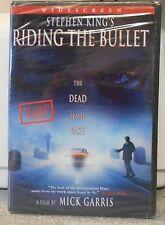Stephen King's Riding the Bullet (DVD, 2005) RARE HORROR BRAND NEW