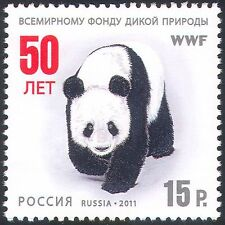 Russia 2011 WWF/Panda/Animals/Nature/Wildlife/Conservation 1v (n33671)