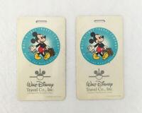 Walt Disney Travel Co. Wheel The Magic Begins Vintage Luggage Tag