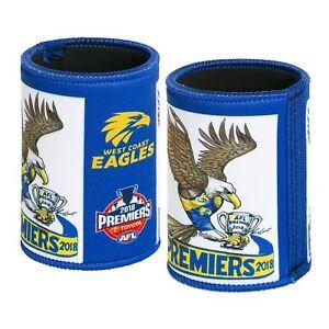 AFL Footy West Coast Eagles 2018 Premiership Premiers Caricature Can Cooler
