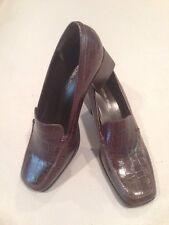 Women's Bandolino 9 Brown Leather Shoe