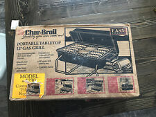 Vintage 1997 *Match-Light!* New in Box Char-Broil Portable Propane Gas Grill USA
