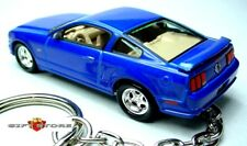 HTF RARE KEY CHAIN SONIC BLUE FORD MUSTANG GT NEW CUSTOM LIMITED EDITION KEYRING