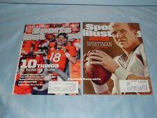 2 PEYTON MANNING Magazines 2013-14 SPORTS ILLUSTRATED Broncos SUPER BOWL XLVIII