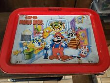 1989 Nintendo Super Mario Bros. TV Metal Diner Collectible Tray