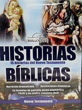 Historias Biblicas del Nuevo Testamento DVD spanish Bible stories New Testament