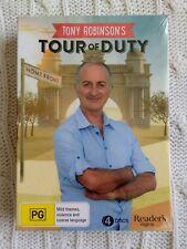 Tony Robinson's Tour of Duty 4 X DVD Set Documentary BRAND