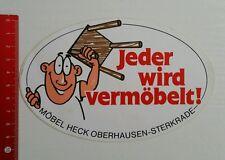 Aufkleber/Sticker: Möbel Heck Oberhausen Sterkrade (010716178)