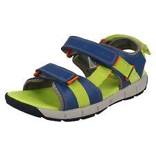6cd857d2954 Boys Clarks Hook   Loop Strap Sandals  Jolly Crazy