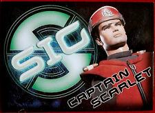 Captain Scarlet - CAPTAIN SCARLET - SIG Embossed Chase Card SIG2