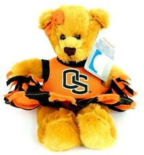 OSU Plushland Bear Cheerleader Collegiate Collectibles Oregon State 2012 NWT