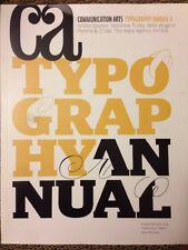 CA Communication Arts Typography Annual 4  January/February 2014