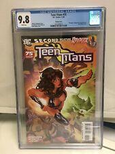 Teen Titans 75 Adam Hughes variant CGC 9.8 NM + 2009 DC Comics Ravager Ravenger