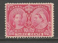 Canada #53 (A30) VF MINT - 1897 3c Queen Victoria Jubilee Issue