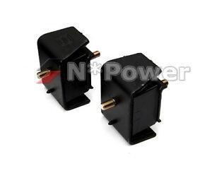 KELPRO RUBBER ENGINE MOUNT SET L&R FOR MAZDA MX-5 MX5 NA6CE 1.6 DOHC B6 89-93