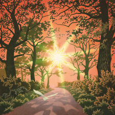 "NEW ORIGINAL DAVID ALDERSLADE ""Oakfrith"" Oak tree wood forest Wiltshire PAINTING"