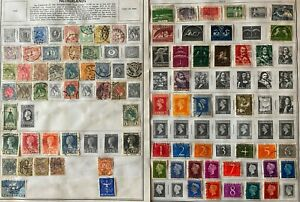 Lot of Netherlands Old Stamps Used/MH