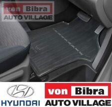 Brand New Genuine Hyundai iLoad & iMax Rubber Floor Mat Front Set AL2004H001