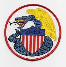 "US Navy WWII Fighter Squadron VF-123 ""Dragon"" patch"