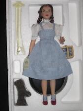 Wizard of Oz DOROTHY Judy Garland Porcelain Doll & Dog Toto Mattel 26834