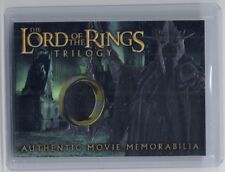 LOTR Lord Of The Rings Trilogy chrome The Witch-King's robe costume card #5