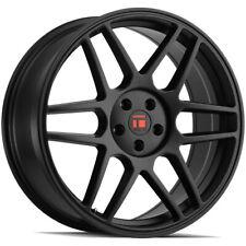 """Touren TR74 17x8 5x4.5"""" +40mm Matte Black Wheel Rim 17"""" Inch"""