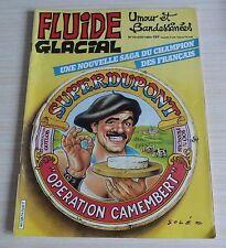 BD BANDE DESSINEE MENSUEL FLUIDE GLACIAL N° 74 EO AOUT 1982
