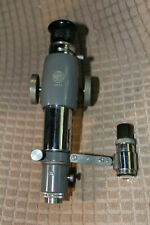 Watts Microscope Comparator Withmulti Angle Screen And Attachments Unit 2 Nice