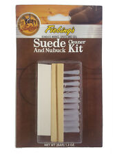 Fiebings Suede and Nubuck Cleaner Kit Removes Marks, Spots & Soiling from Suede
