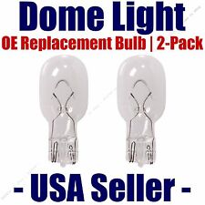 Dome Light Bulb 2-Pack OE Replacement - Fits Listed Ford Vehicles - 912