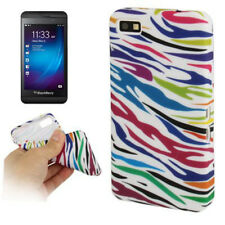 TPU Case Schutzhülle für BlackBerry Z10 Zebra Style in bunt Etui Hülle Cover