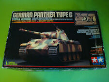 TAMIYA GERMAN PANTHER TYPE G (Early Version)