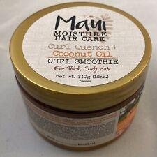 Maui Moisture Hair Care Curl Quench Coconut Oil Curl Smoothie 12 oz.
