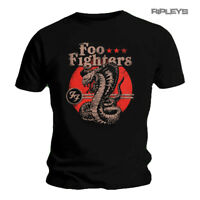 Official Black T Shirt FOO FIGHTERS Concrete and Gold SNAKE Cobra All Sizes