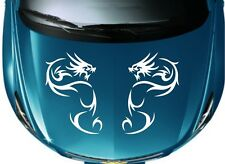 Car Tribal Dragon Racing Hood decals Vinyl Graphics stickers #CG286 F7sh