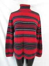 Ralph Lauren Indian Blanket Sweater L Striped Sweater Turtleneck Sweater Wool