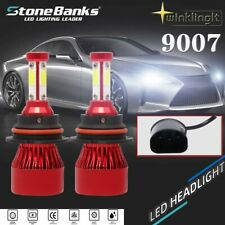 New listing 4-sides 9007 Hb5 Led Headlight Bulb Conversion Kit High/Low Dual Beam 120W 6000K