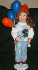 """JULIE GOOD-KRUGER THE VINYL COLLECTION 21"""" DOLL """"PARTY BALLOONS"""" #310/1000"""