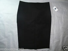 GAP women's black pencil cut skirt SZ. 0 new nwt